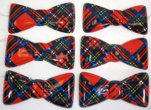 Scotland Tartan Party Bowties 100's British Scottish Highlander Brave